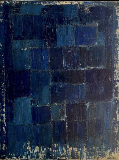Nélio Saltão, 'Em bebedeiras de azul', 2019