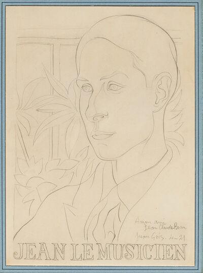 Juan Gris, 'Jean le musicien', 1921