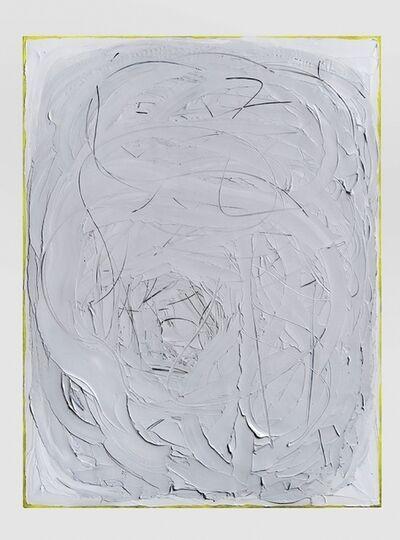 Liat Yossifor, 'Line/ Figure (Yellow Edges)', 2015