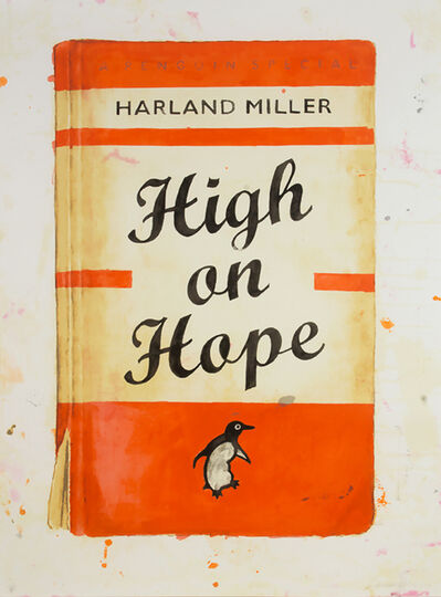 Harland Miller, 'High on Hope', 2014