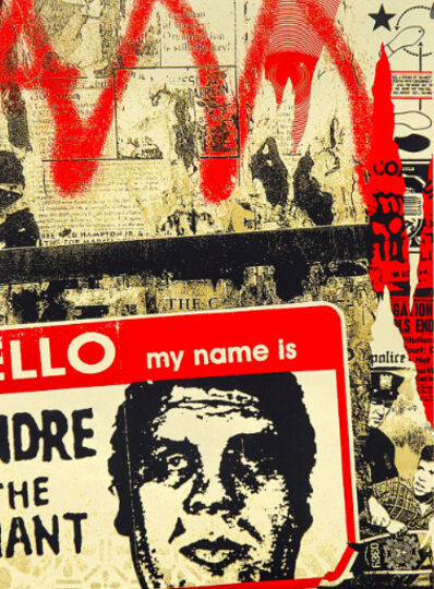 Shepard Fairey, 'Hello My Name Is', 2019