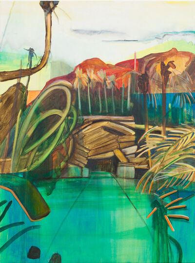Louise Thomas, 'Two Rocks Two Palms', 2013