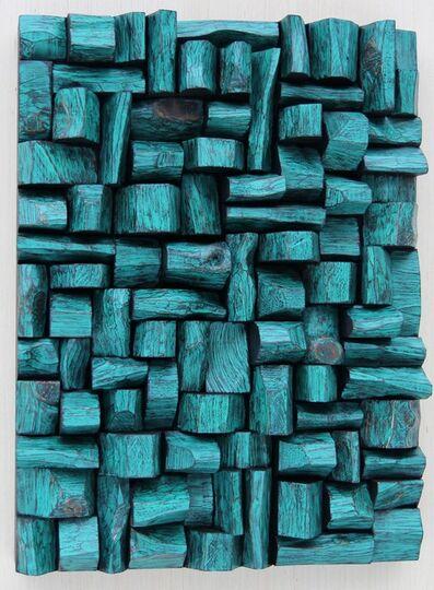 OLGA ORESHYNA, 'Turquoise', 2018