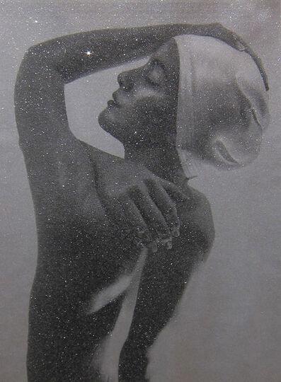Carole A. Feuerman, 'SHOWER PROFILE (SILVER)', 2013