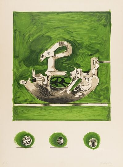 Graham Sutherland, 'Swan-Like Form', 1971