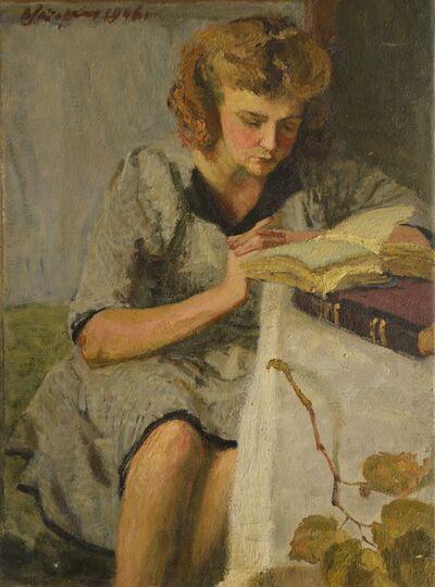 Vladimir Semenovich Zakharkin, 'An old book', 1946