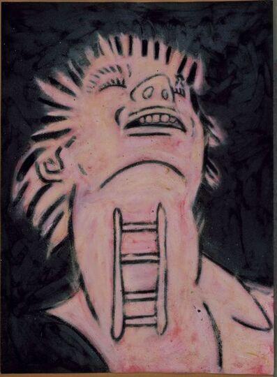 Tony Bevan, 'Throat (Pink)', 1985