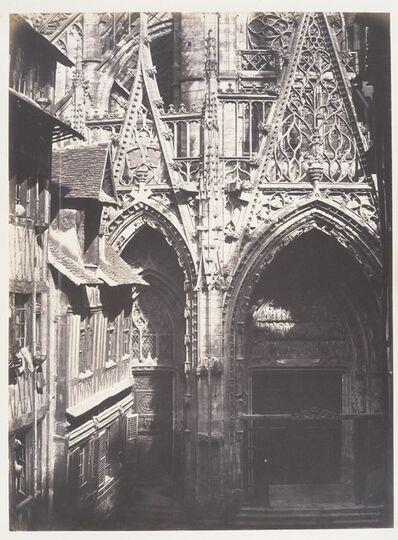 Edmond Bacot, 'Saint-Maclou, Rouen', 1852–1854