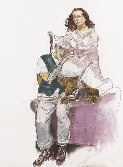 Paula Rego, 'Dame with Goat's Foot 1, (Undressing the Divine Lady)', 2011-2012