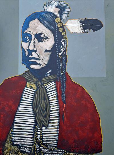 "Nocona Burgess, '""Black Leggings - Kiowa""', 2019"