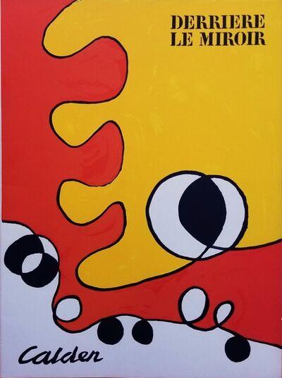 Alexander Calder, 'Derriere Le Miroir No. 173 (front cover)', 1968