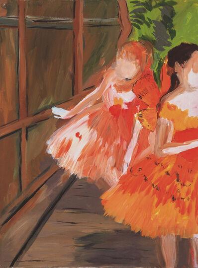 Karen Kilimnik, 'Dancers in the Wings, Moths, Paris Opera, Degas', 2007