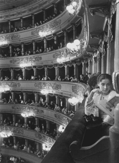 Alfred Eisenstaedt, 'Premier at La Scala, Milan', 1933