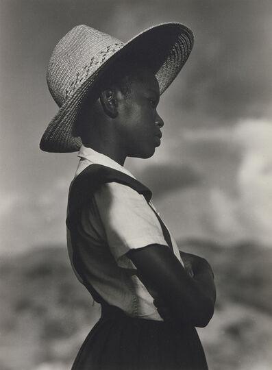 Consuelo Kanaga, 'School Girl (St. Croix)', 1963