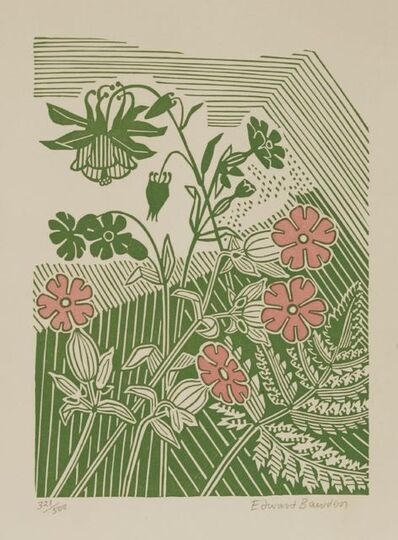 Edward Bawden, ''CAMPIONS AND COLUMBINE''