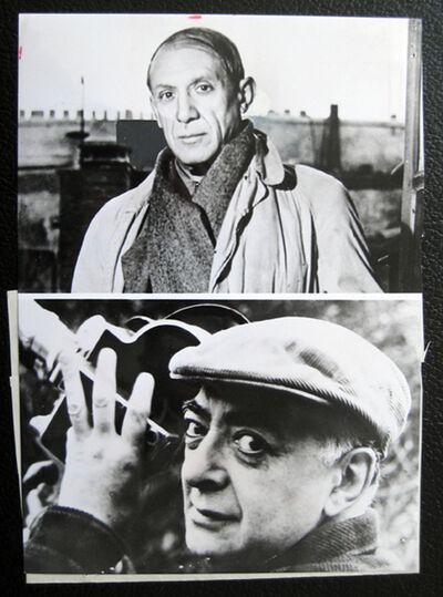 Brassaï, 'Picasso facing / Brassai holding his camera ', 1967
