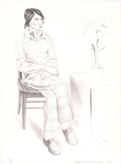 David Hockney, 'Yves Marie', 1974