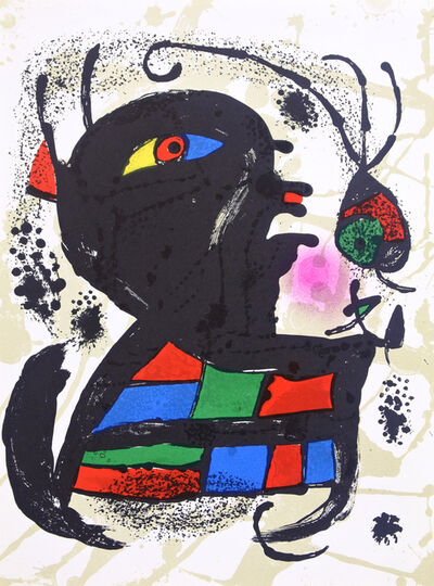 Joan Miró, 'Lithograph V', 1972