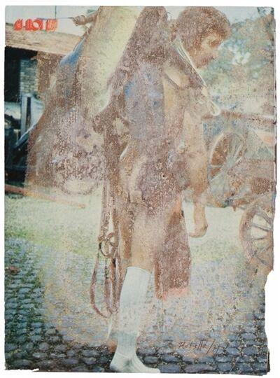 Mimmo Rotella, 'Partenza', 1971