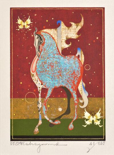 Nakayama Tadashi, 'Crimson Ema', 2007