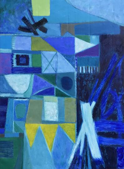 Sylvia Tait, 'Rhapsody in Blue', 2017