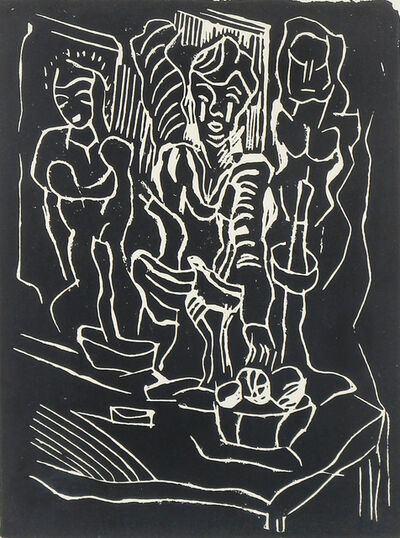 Alfred Morang, 'Figures in Black', n.d.