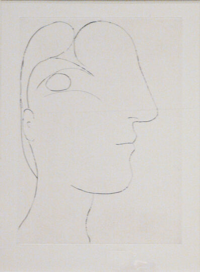 Pablo Picasso, 'Profil sculptural de Marie-Thérèse', 1933 (March 7-Paris)