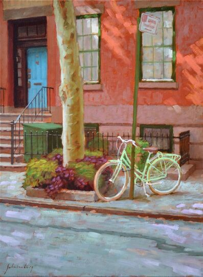 Paul Schulenburg, 'Green Bike'