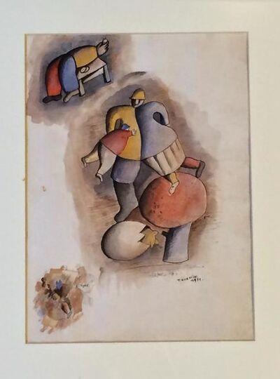 José Gurvich, 'La Creación', 1971