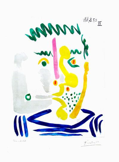 Pablo Picasso, 'Fumeur barbu', 1964