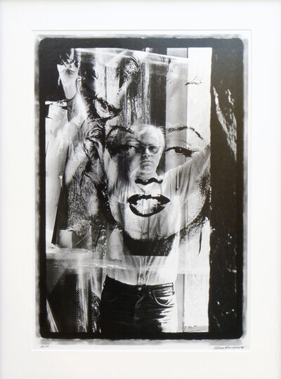 William John Kennedy, 'Warhol Holding Marilyn Acetate II', Executed: 1964-Printed: 2010