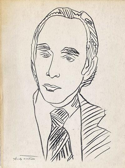 Andy Warhol, 'Warhol illustrated Leo Castelli Twenty Years book', 1977