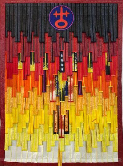 Abdoulaye Konaté, 'Composition signe Fondation', 2020