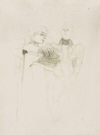 Henri de Toulouse-Lautrec, 'Mademoiselle Lender, dans Madame Satan (Wittrock 47)', 1893