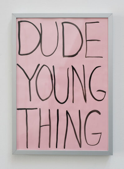Michael Pybus, 'DUDE YOUNG THING ', 2010