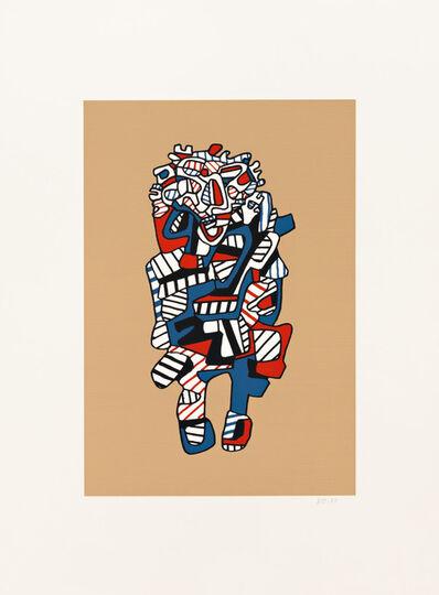 Jean Dubuffet, 'Celebrator (Kraft)', 1973