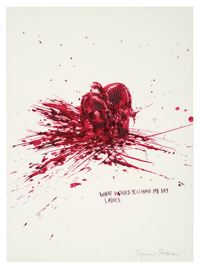 Raymond Pettibon, 'Untitled (What Would You)', 2002