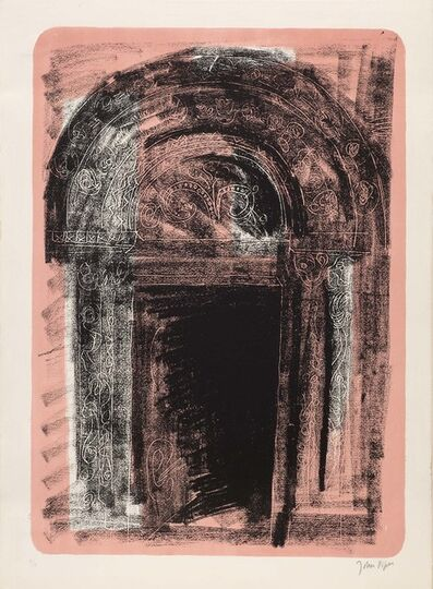 John Piper, 'Kilpeck, Herefordshire: the Norman south door ', 1964