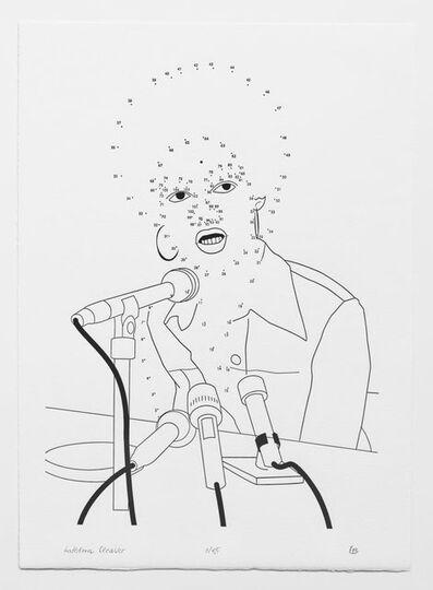 Željka Blakšić, 'Connect the Dots: Kathleen Cleaver', 2019