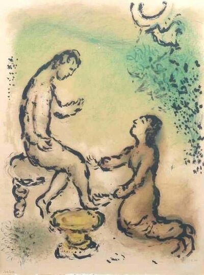 Marc Chagall, 'Odysseus and Euryklea', 1975
