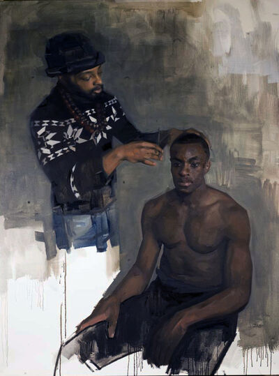Jas Knight, 'Untitled (Two Men) Jade Visions', 2019