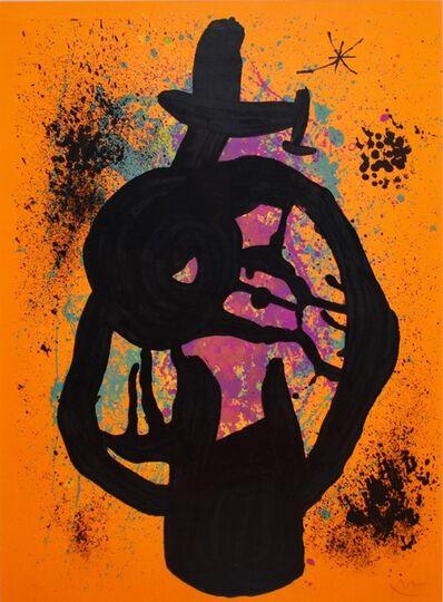 Joan Miró, 'Le majorquin taciturne', 1969