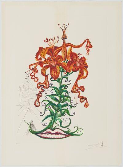 Salvador Dalí, 'Surrealistic Flowers or Florals', 1972