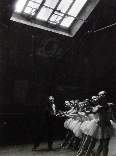 Alfred Eisenstaedt, 'Swan Lake Rehearsals, Opera de Paris', 1930