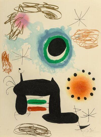 Joan Miró, 'La Ralentie', 1969