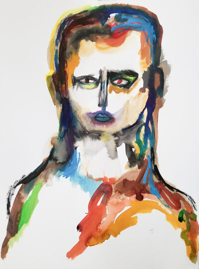 Wole Lagunju, 'Portrait ', ca. 2019