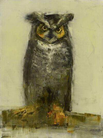 Rebecca Kinkead, 'Great Horned Owl', 2017