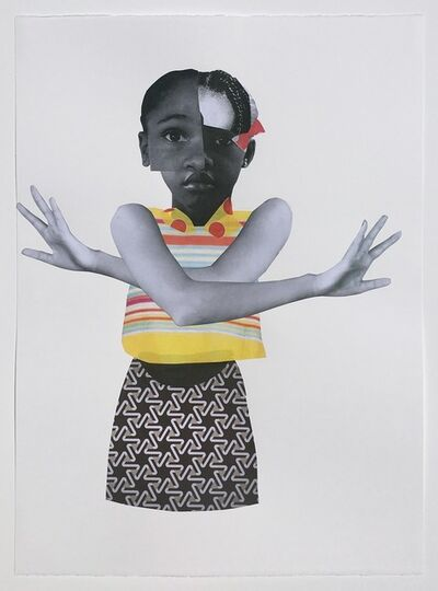 Deborah Roberts, 'Small Waves', 2018