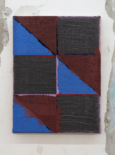"Joshua Abelow, 'Untitled (Abstraction""FNOO"")', 2015"