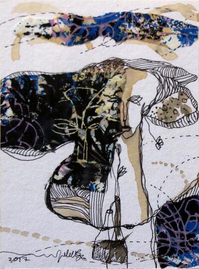 Jehad Al Ameri, 'Two Faces', 2017